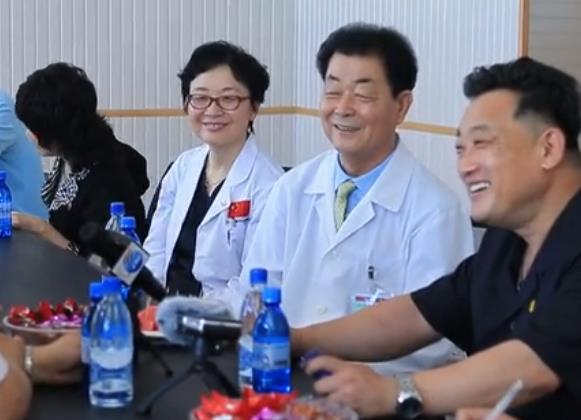 中国眼科专家在朝鲜的光明与友谊之行