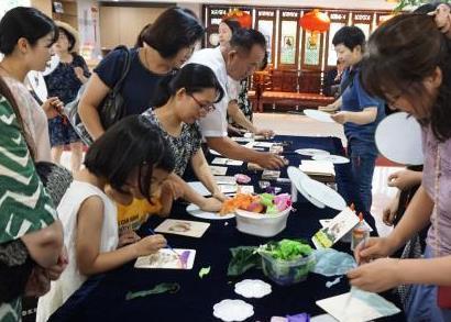海峡两岸中国世遗文创展在韩国开幕