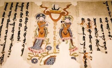 七十件新疆文物精品在北京大学展出 再现丝绸之路文明乐章