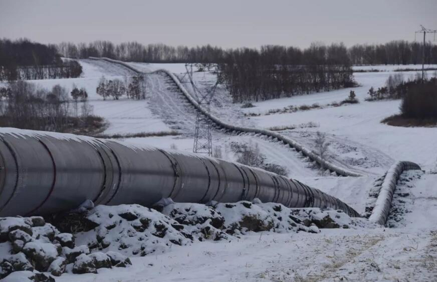中俄东线天然气管道即将开通的消息引发了境外媒体关注