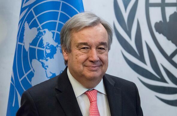 联合国秘书长感谢中国奉献 吁各国尽力遏制新冠肺炎