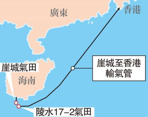 南海1542米水下铺管 明年起供气湾区
