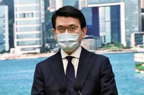 香港商务及经济发展局局长邱腾华:美制裁香港有损所有外企利益