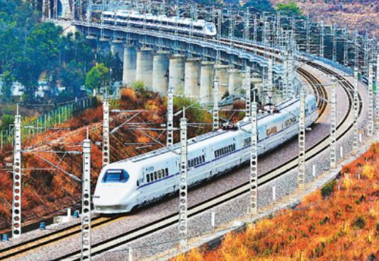 这五年,中国经济实力杠杠的