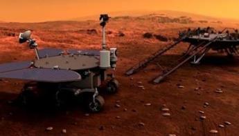 天问一号成功实施近火制动 进入火星停泊轨道