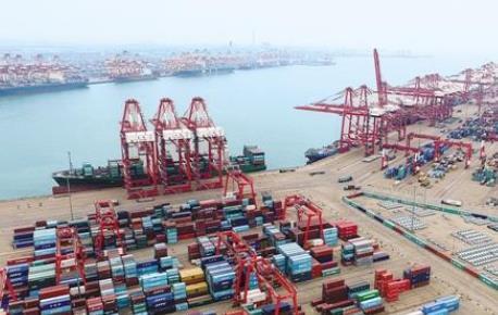 """中国与""""一带一路""""沿线国家经贸合作态势良好"""