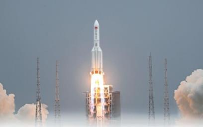 """陕西航天科技助力中国空间站天和核心舱""""闪耀""""太空"""