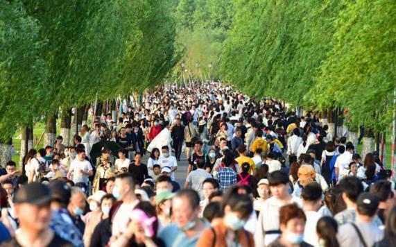 中国人的五一假期让外国网友有了盼头
