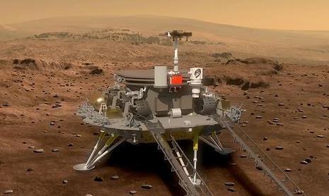 天问一号着陆火星首批科学影像图公布  中国首次火星探测任务圆满成功